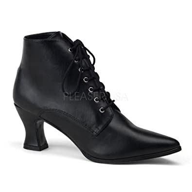 Amazon.com: Granny Boots Victorian Shoes Goth Shoes Saloon Girl Shoes