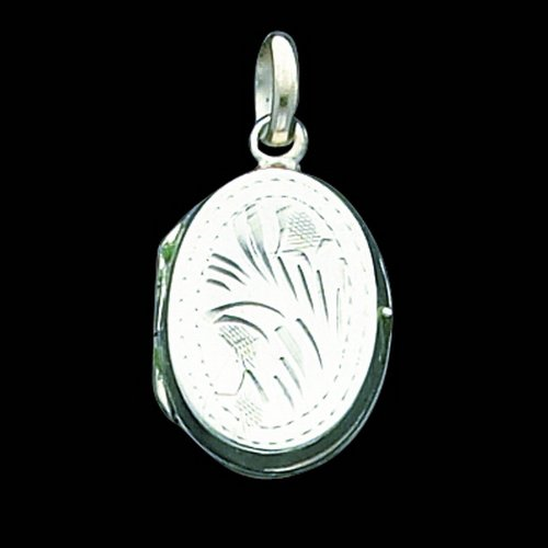 Sterling Silver Locket. Metal Weight- 2.4g