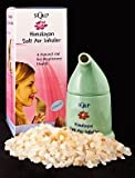 Himalayan Crystal Salt Inhaler - Ceramic Salt Pipe - Salt Air Respiratory Help