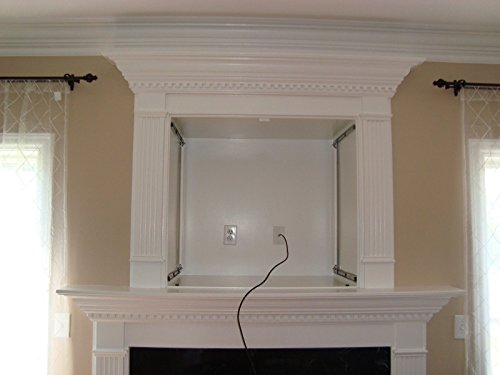 slydlock fireplace nook tv mount fits all plasma lcd led
