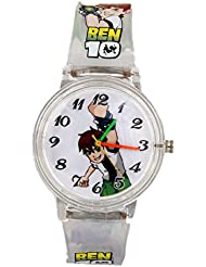 COSMIC LATEST DESINGER White Ben 10 KIDS WATCH