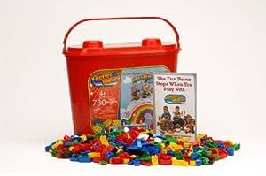 Better Blocks - Buliding Blocks 730 Piece Set - Compatible With Lego Bricks 8 Stud