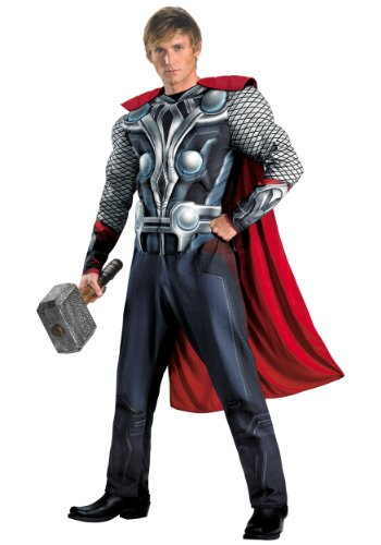 Disguise Marvel's Avengers Movie Thor Avengers Classic Muscle Adult Costume