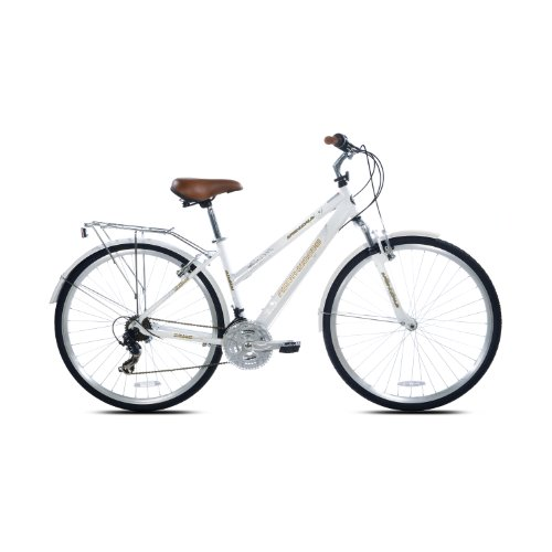 Find Cheap Northwoods Ladies Springdale 21 Speed Hybrid Bicycle, White