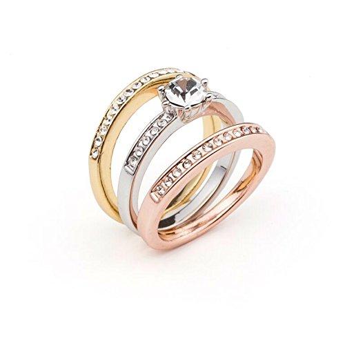Vipdeluxe-Swarovski anello armonia t17 donna