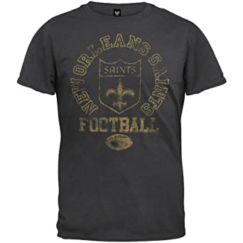 New Orleans Saints - Vintage Logo Soft T-Shirt by NFL
