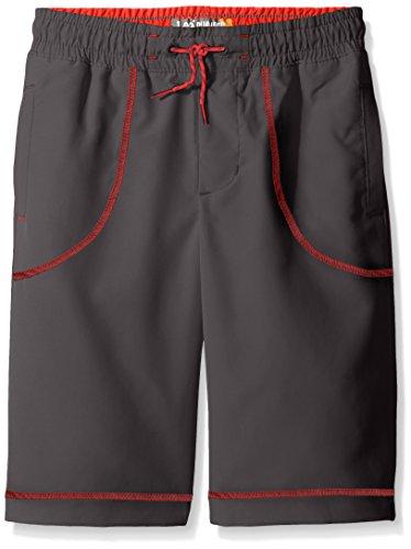 Lee Big Boys' Dungarees Sport Short, Asphalt, X-Large
