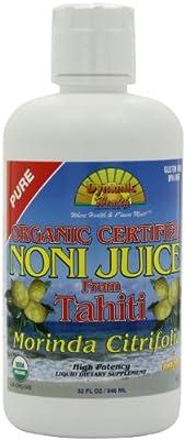 Dynamic Health Noni Juice, Tahitian Morinda Citrifolia, 32 Ounces
