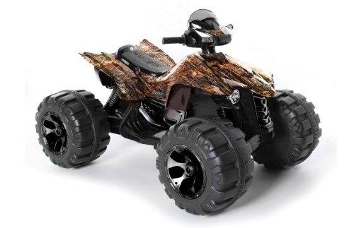 Dynacraft Surge 12V Mega Wheel Quad Ride On, Camo Brown/Black