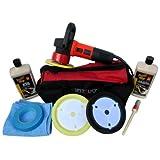 DAS6 Professional 850 watt Machine Polisher & Meguiars Compounds Starter Car Polishing Kit