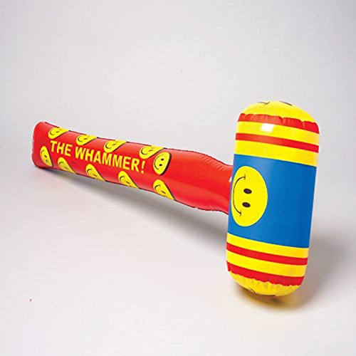 One Large Smile Smiley Face Theme Inflatable The Whammer Hammer