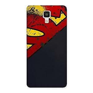 Ajay Enterprises Dayer Super red S Back Case Cover for Xiaomi Mi 4