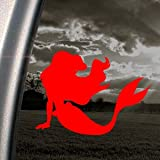 Disney Red Decal Little Mermaid Ariel Window Red Sticker
