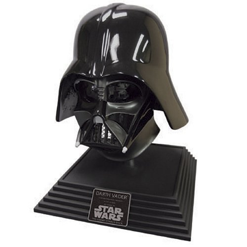 Star Wars EP3 - Limited Edition Hayden Christensen + James Earl Jones Dual Signature Darth Vader Helmet - OL Autographed Collectible Movie Prop Replica w/ Display