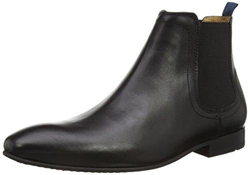 Benetton Enox Chelsea Boot - Stivali Uomo, colore Nero (Black), taglia 43 (9 UK)