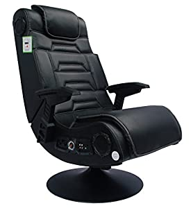 X-Rocker Pro Advanced 2.1 Gaming Chair, Black by X-Rocker