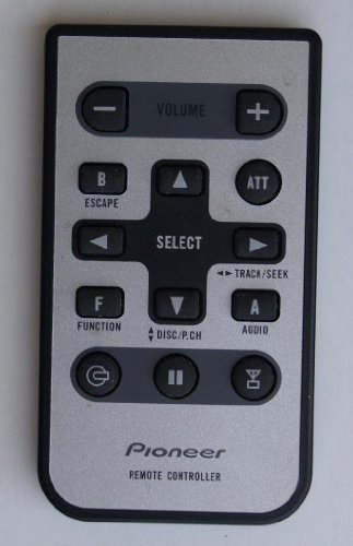 Pioneer Remotes For Dvd-Vcr-Tv-Audio-Stereo And Or Compact Disc Systems (Pioneer Remote Controller)