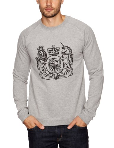 Weekend Offender Crest Men's Jumper G/Mar X-Large