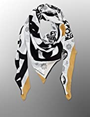 Marcel Wanders Pure Silk Abstract Print Scarf