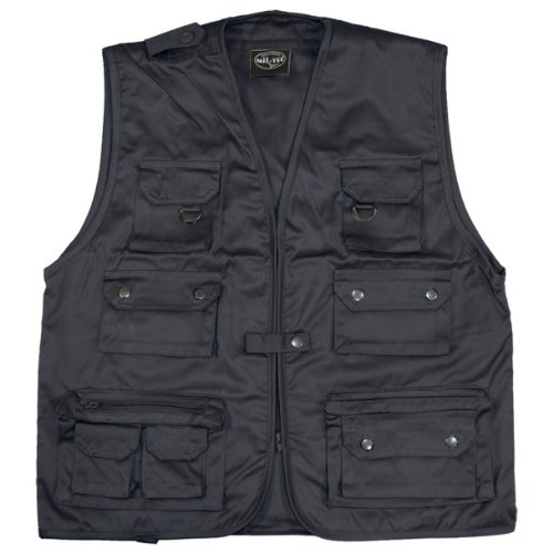 Mil-Tec Fishing Vest Navy Blue