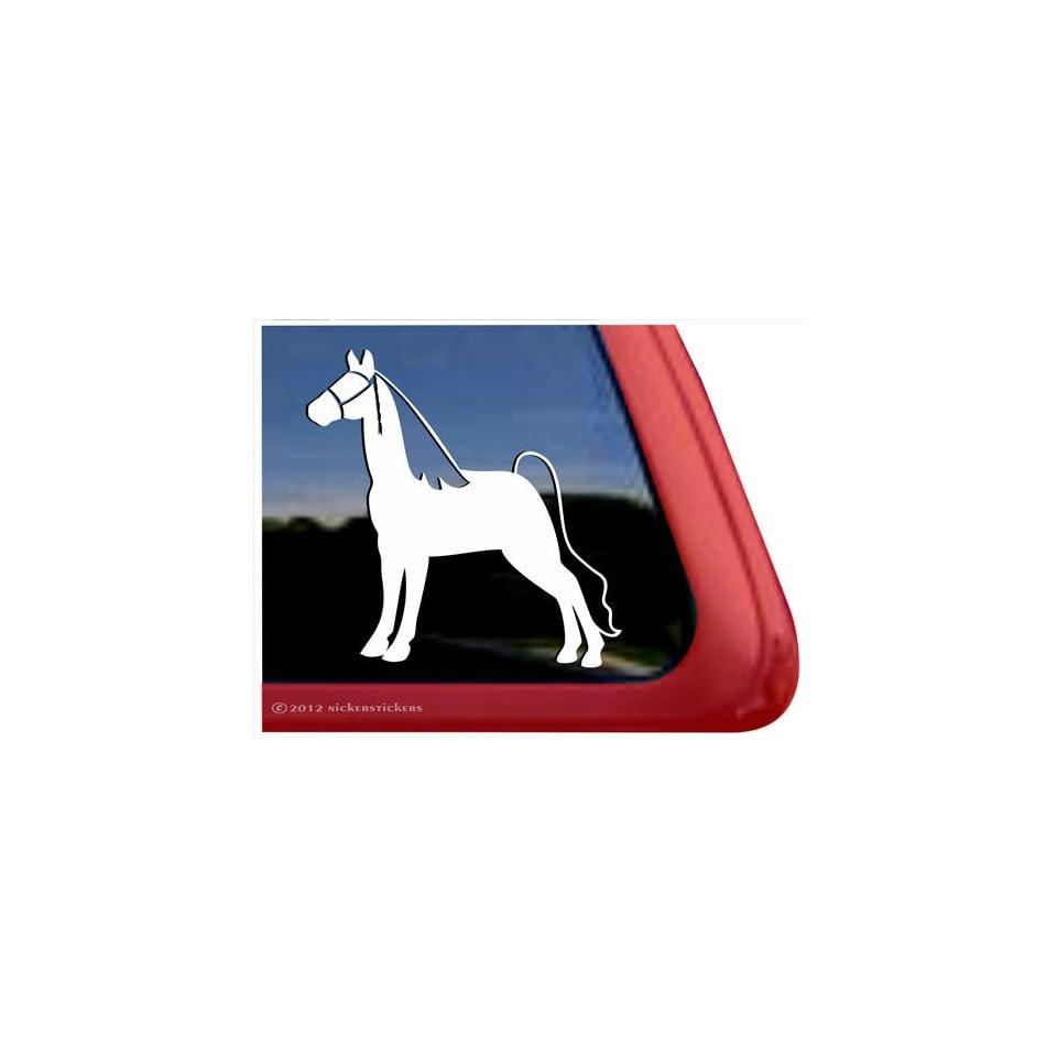 Tennessee Walking Horse Trailer Vinyl Window Decal Sticker