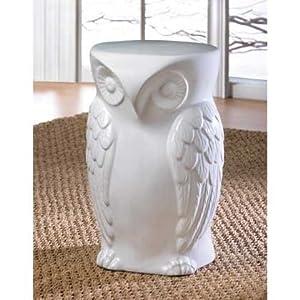 Amazon.com : 2 WISE OWL CERAMIC DECORATIVE INDOOR/OUTDOOR