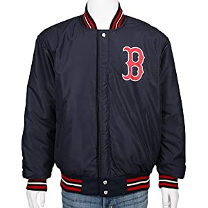 Boston Redsox Wool and Leather Reversble Lettermens Jacket by Boston