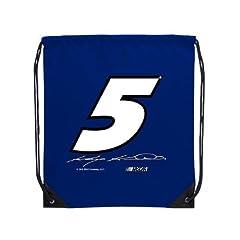 Buy Drawstring Cinch Bag, Kasey Kahne - No. 5, 18-in. X 14-in. (Blue) by Dist Edwenda LLC