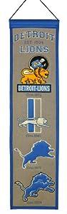 NFL Detroit Lions Heritage Banner by Winning Streak