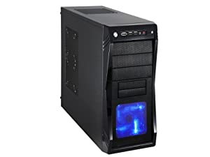 Rosewill Black Gaming ATX Mid Tower Computer Case CHALLENGER