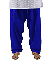 Neha Fashion Women's Regular Patiala Pant ( Royal Blue )