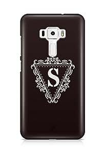 YuBingo Monogram with Beautifully Written letter S Designer Mobile Case Back Cover for Asus Zenfone 3 552 KL