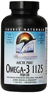 Source Naturals Arcticpure Omega-3 1125 Fish Oil, 1,125mg, 120 Count