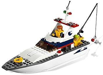 Lego City - 4642 - Jeu de Construction - Le Bateau de Pêche