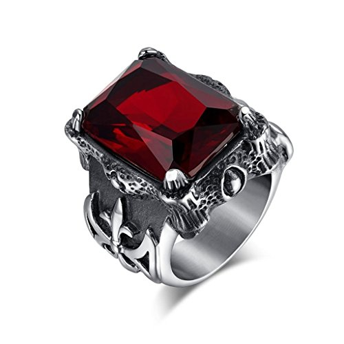beydodo-stainless-steel-rings-wedding-bands-for-women-cz-casting-width-25mm-size-n-1-2-red