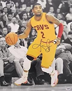 KYRIE IRVING SIGNED AUTHENTIC 16X20 PHOTO CLEVELAND CAVALIERS PSA DNA T93290 by KLF+Sports