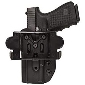 Comp-Tac International OWB Modular Mount Glock 19, 23, 32 Gen5 RSC Holster (Color: Black, Tamaño: GLOCK - 19/23/32 Gen5)