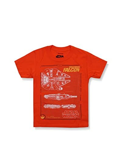Star Wars Camiseta Manga Corta Falcon
