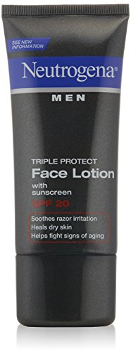 Neutrogena Triple Protect Face Lotion for Men SPF 20, 1.7 oz.,