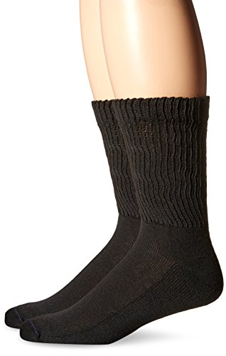 Dr-Scholls-Mens-2-Pack-Non-Binding-Diabetes-and-Circulatory-Crew-Socks