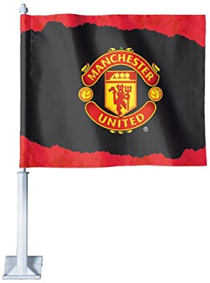 Int'l Soccer Manchester United Football Club Car Flag