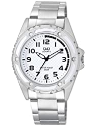 Q&Q White Dial Men's Watch - Q654N204Y