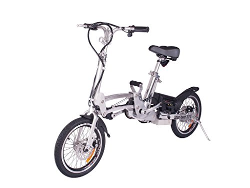 X-Treme Super Folding Electric Bicycle - Xb-210Li Silver