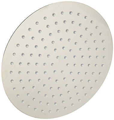 ALFI brand RAIN12R 12-Inch Solid Round Ultra Thin Rain Shower Head, Polished Stainless Steel by Alfi Trade Inc.