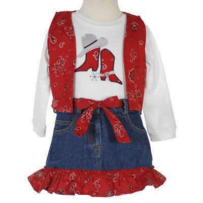 Newborn Cowboy Clothes on Buy Go Baby Boutique Toddler Kids Clothes Western Set Girl