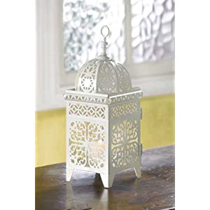 Click to buy Wedding Reception Decoration Ideas: MOROCCAN WEDDING CANDLE LANTERN CENTERPIECES from Amazon!