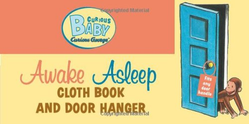 Curious Baby Awake/Asleep Cloth Book (Curious George) (Curious Baby Curious George) front-936924