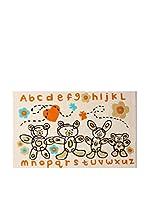 Tapis a Porter Alfombra Kids Concept Beige 100 x 160 cm