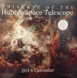 2014 Universe Of The Hubble Space Telescope Wall Calendar