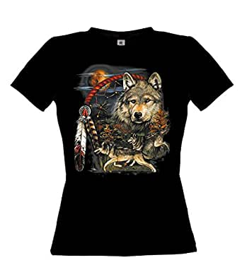 Ethno Designs Native American Spirit Womens T Shirt